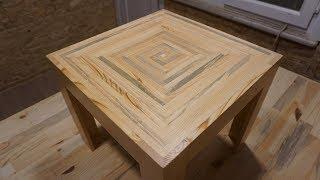 Paletten sehpa yapimi / Making a coffee table from pallet / How to build a coffee table from pallets