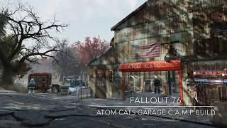Fallout 76 Camp Build: Atom Cats Garage