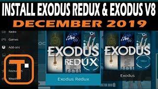 How to Install Exodus Kodi Addon | Get Both Redux & V8 | Dec 2019