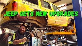 The Yellow Banana Gets CUSTOM work done at FAB RAT'S GARAGE!!