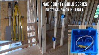 Electrical in a Post Frame House | Rough In | Part 1