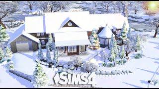 The Sims 4  - The Christmas Mansion (House Build)