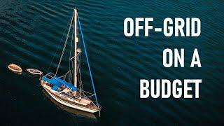 Budget OFF-GRID living on a MINIMALIST sail boat – Ep.81