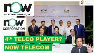 NOW TELECOM 4TH TELCO PLAYER? A SUBSIDIARY OF NOW CORP. (PSE: NOW) WILL UNDERGO BACKDOOR LISTING