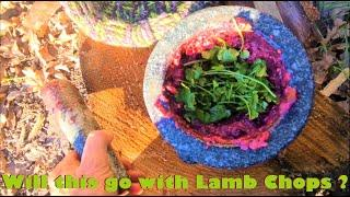A new sauce for Lamb Chops~Cooking with Clay Tall Stories