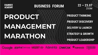 PRODUCT MANAGEMENT MARATHON - ONLINE BUSINESS FORUM - Day II