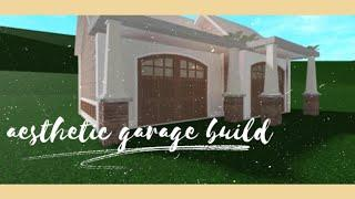 Bloxburg Aesthetic Garage Build