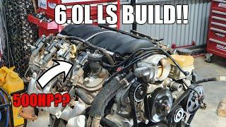 500hp LS 6.0L Engine Build Part 1 | Holden Commodore VE SS Track Ute: VLOG 7