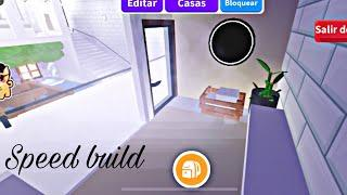 Como hacer sauna adop me / speed build