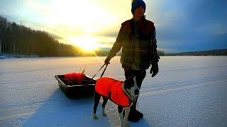 First Ice of the Season | Testing New Fishing Gear