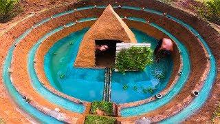 Build Fish Pool Around The Most Secret Underground House