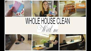 WHOLE HOUSE CLEAN / ULTIMATE Clean With Me / ПОКУПКИ METRO / МОТИВАЦИЯ НА УБОРКУ