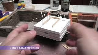 Late 1700s/early 1800s summer house build in 1/35 scale, Part 9