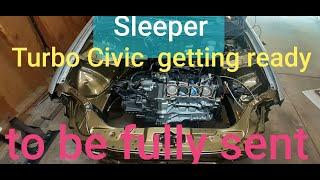 sleeper civic gets built short block installed