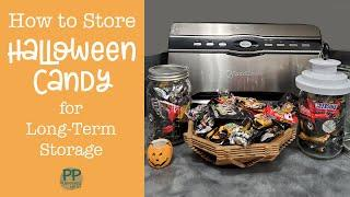How to Store Halloween Candy in the Pantry for Long-Term Storage