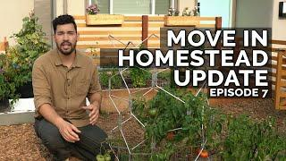 FINALLY MOVED IN! Homestead Update Ep. 7