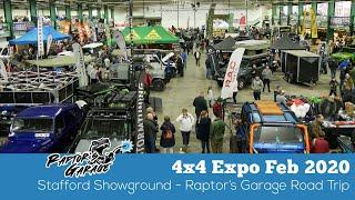 Raptor's Garage at the 4x4 Expo Stafford Showground Feb 2020
