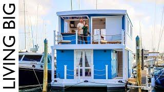 A Dream Life On The Water In An Amazing House Boat
