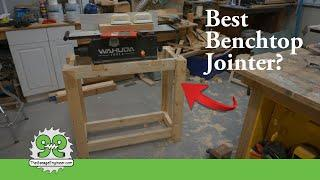 Is this the Best Benchtop Jointer? Plus, Bonus Jointer Stand Build - The Garage Engineer