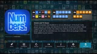 2019 NOVEMBER!!! HOW TO INSTALL NUMBERS KODI ADDON