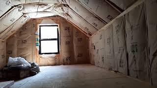 Off Grid Cabin Build | Insulation For Ceiling and Walls  |  Episode 21