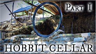 Building a Hobbit style root cellar with stone Part I