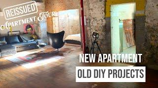 NEW LOFT APARTMENT/OLD DIY PROJECTS TOUR   REISSUED