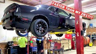 I WAITED 5 YEARS FOR THIS... STARTING My 1,000HP Hellcat Build!!! Ft. My C8 is On Its Way!
