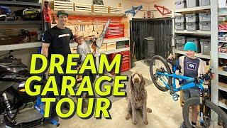 Dream Garage Tour - Eric Porter's Mountain Bike Garage