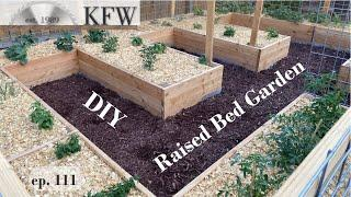 ep. 111 - How to Build a Raised Bed Planter Garden - Weekend Project