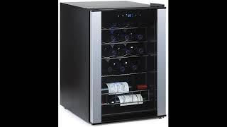 User Review: Wine Enthusiast 268 68 20 01 20-Bottle Evolution Series Wine Cooler, Stainless Tri...