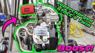 Mounting A Supercharger On A Predator 670cc V Twin