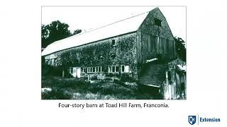 NBA 2020 Virtual Lectures: The History of Agriculture as Told by Barns