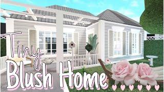 Blush Tiny Home \ Bloxburg Speed Build