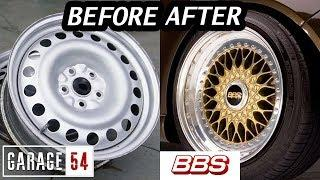 Making a BBS wheel out of a steelie
