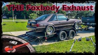More Drama - Exhaust Trouble on the 331 Stroker Foxbody Build - pt. 3891 or something