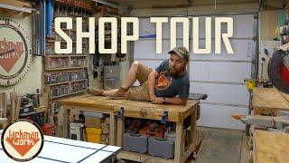 The Ultimate One-Car Garage Woodshop (shop tour)