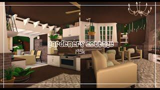 gardeners cottage speed build | hvneycomb | ROBLOX | Welcome to Bloxburg