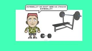 How To Build Your Own Home/Garage Gym On A Budget-Part 4 (Resistance Training)
