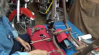 Installing A Footclutch Pedal Assembly on the Harley Davidson Project Bike