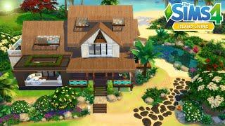 The Sims 4 -Tropical luxury Home (House Build)