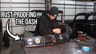 Rust Proofing The Dash & Mail Call!! - 1939 Ford Forgotten Hot Rod
