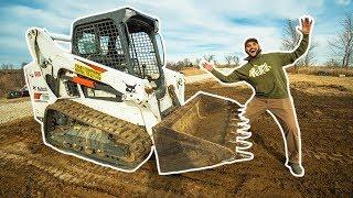 BUILDING My DREAM GARAGE in My FRONT YARD!!! (Clearing Land)