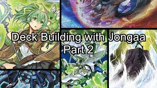 Part 2! Building A New Dragon Link Deck! Building Decks with Jongaa! Learn how I make my Decks!