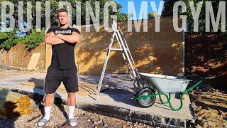 Building The Gym   Ep. 1 *FULL HOME GYM BUILD*