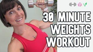 NEW! MINIMAL REST! 30 minute weighted workout