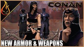 New Armor And Weapons Conan Exiles 2019 PTR Content