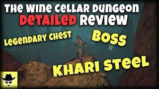 The Wine Cellar Dungeon Detailed Review | CONAN EXILES