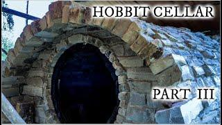 Building a Hobbit style root cellar with stone Part III