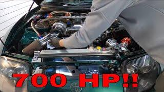 Detailing A 700HP Engine Bay!!